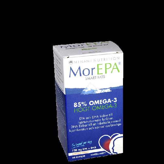 MorEPA Orginal SmartFats, 60 kapslar