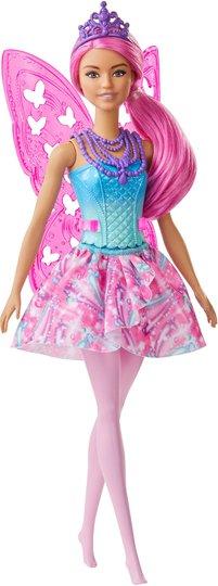 Barbie Dreamtopia Dukke Fairy, Rosa