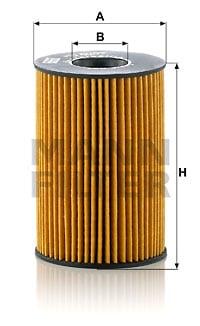 Öljynsuodatin MANN-FILTER HU 8007 z