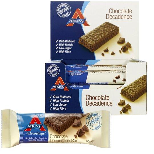 "Hel Låda Proteinbars ""Chocolate Decadence"" 16 x 60g - 49% rabatt"