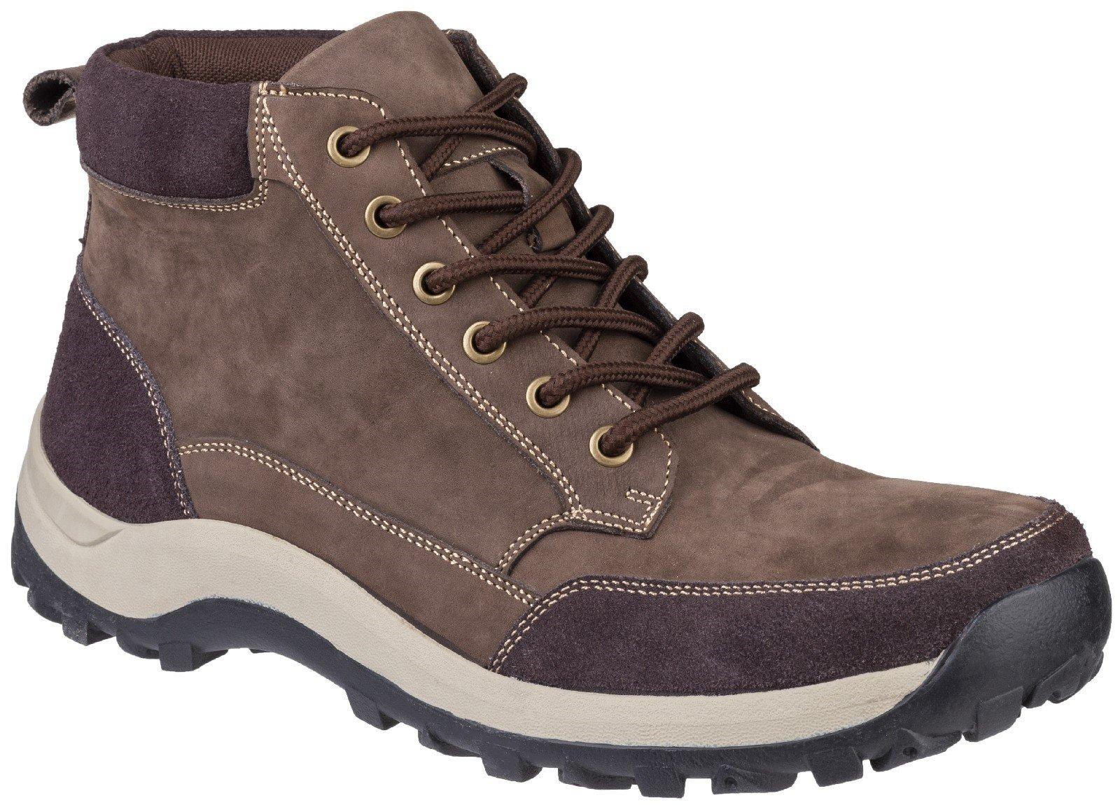 Cotswold Men's Slad Lace Up Boot Various Colours 27136 - Brown 6.5