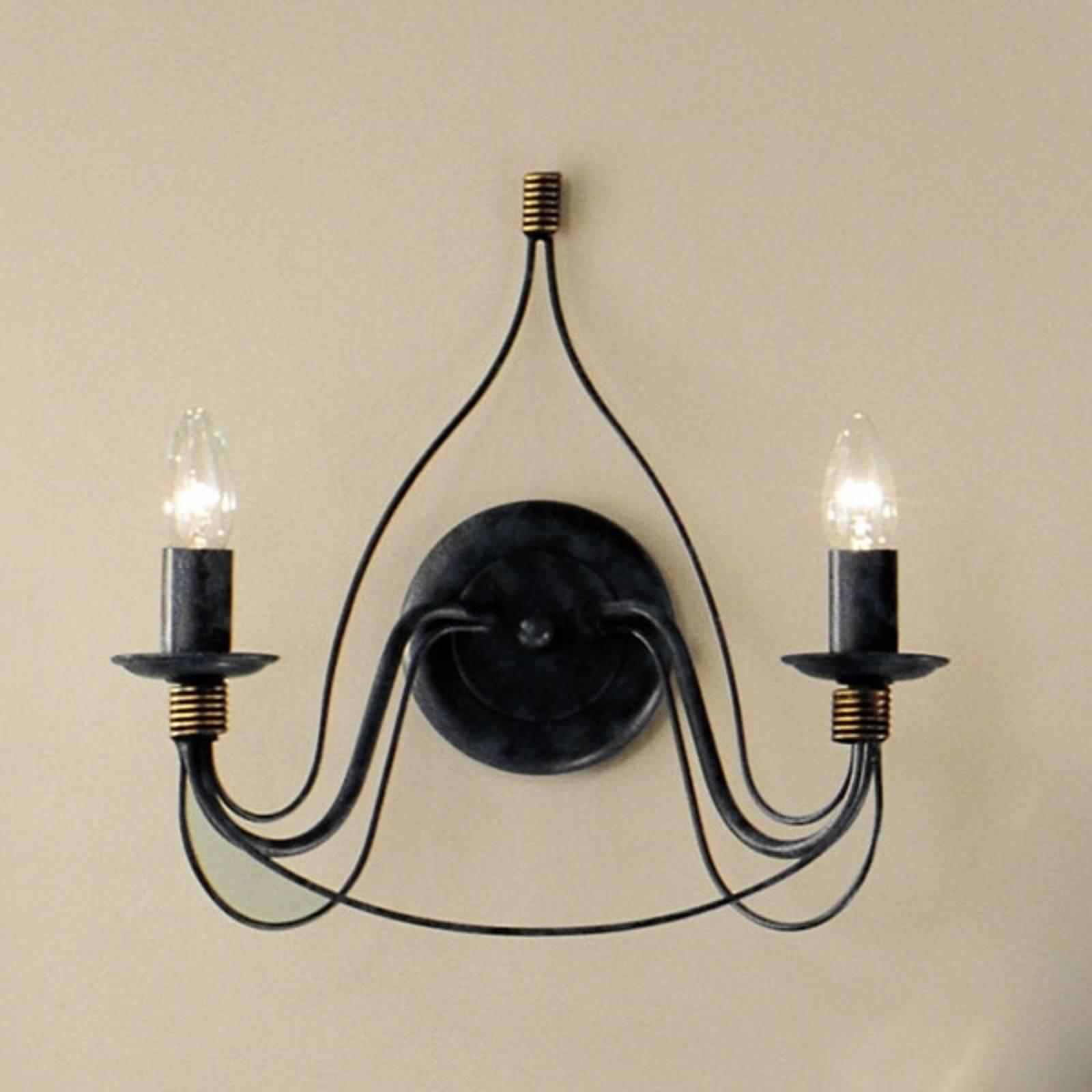 FILO-seinävalaisin 2-lamppuinen sini-musta
