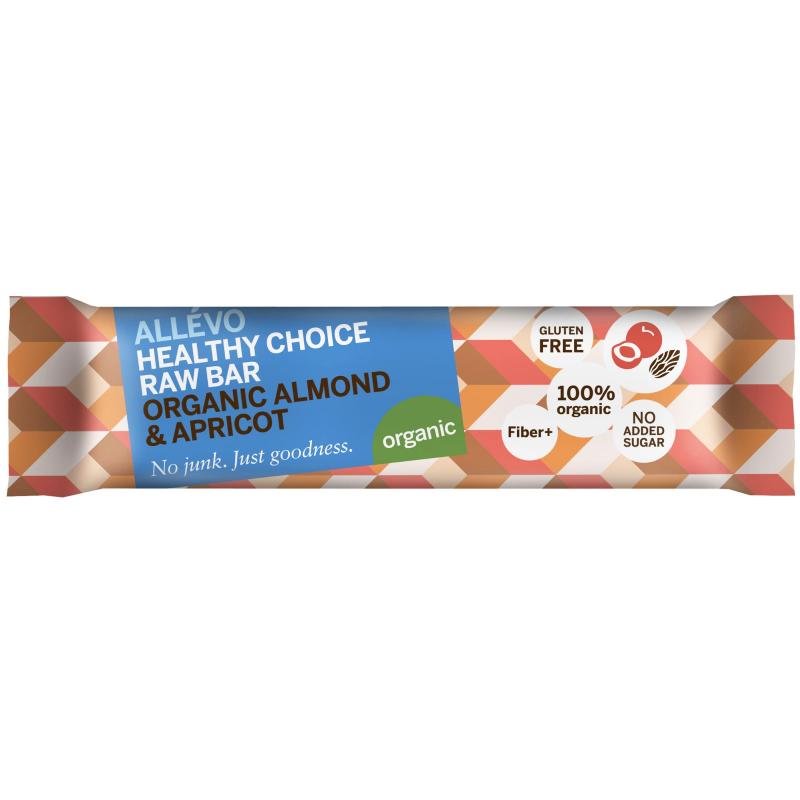 "Rawbar ""Almond & Apricot"" 40g - 74% rabatt"