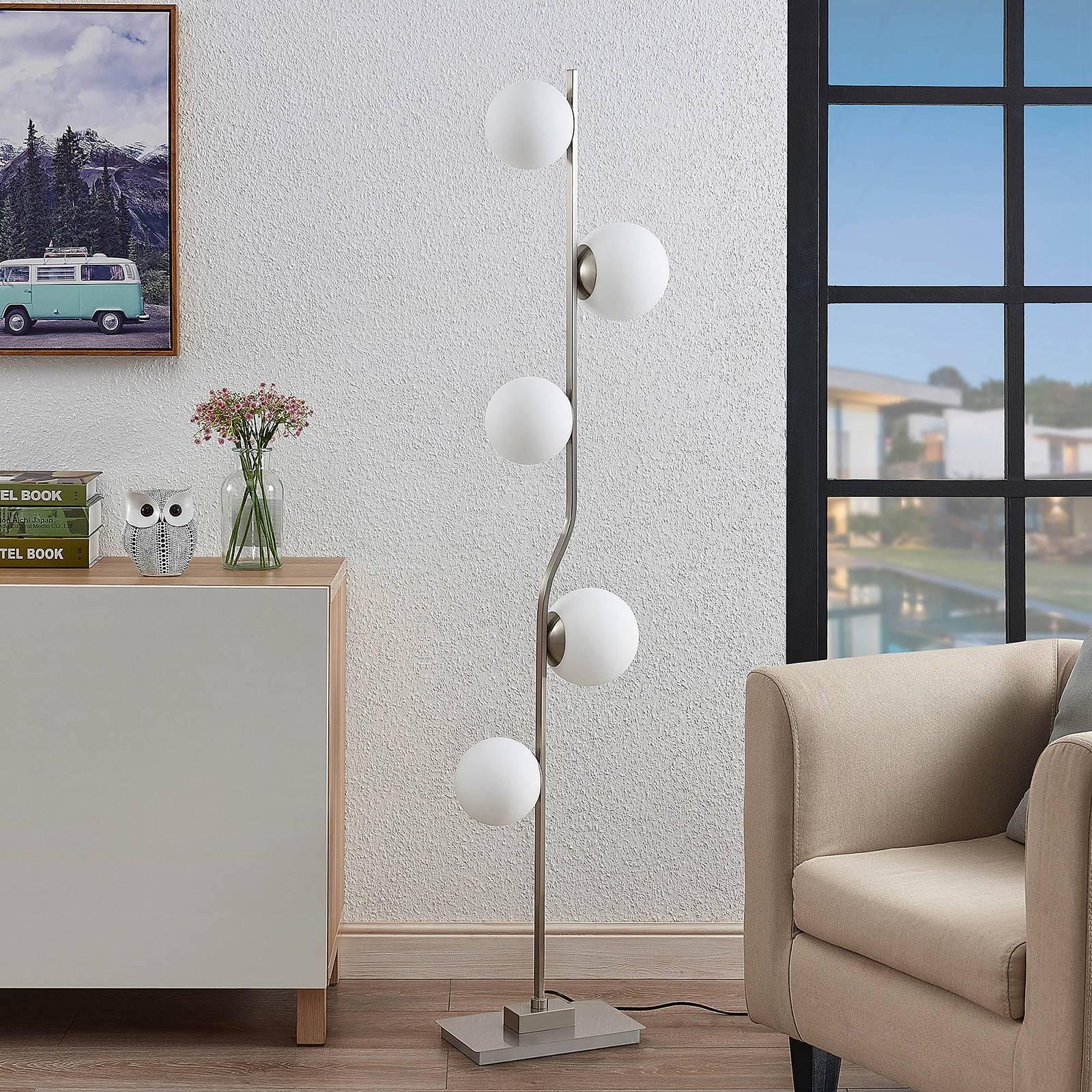 Lindby Avalyn -lattiavalo, valkoinen, nikkeli