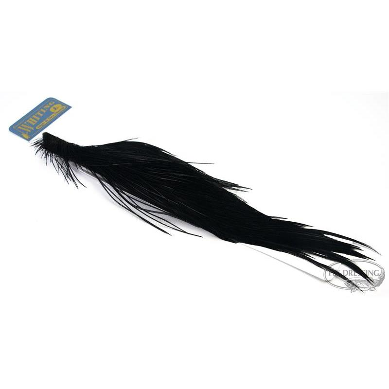 Whiting Rooster High & Dry 1/2 Cape Black