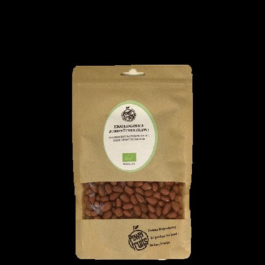 Ekologiska Jordnötter Redskin RAW, 250 g