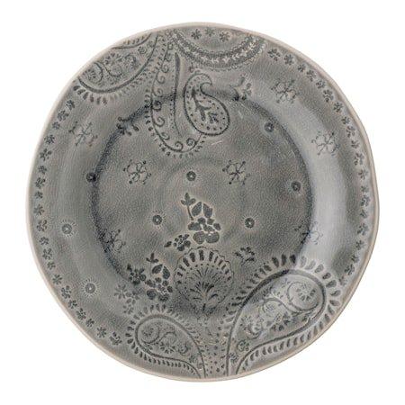 Rani Tallerken Grå Steingods 26,5 cm