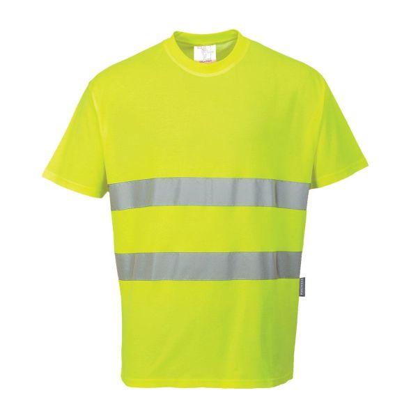 Portwest Comfort T-shirt Hi-Vis gul XS