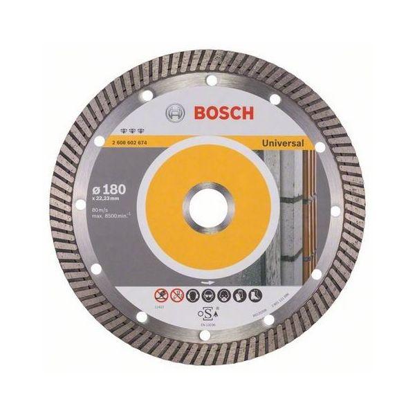 Bosch Best for Universal Turbo Diamantkappskive 180x22,23mm