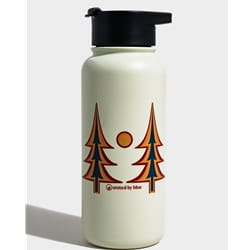 United By Blue Trippy Trees 32Oz Insulated Steel Bottle
