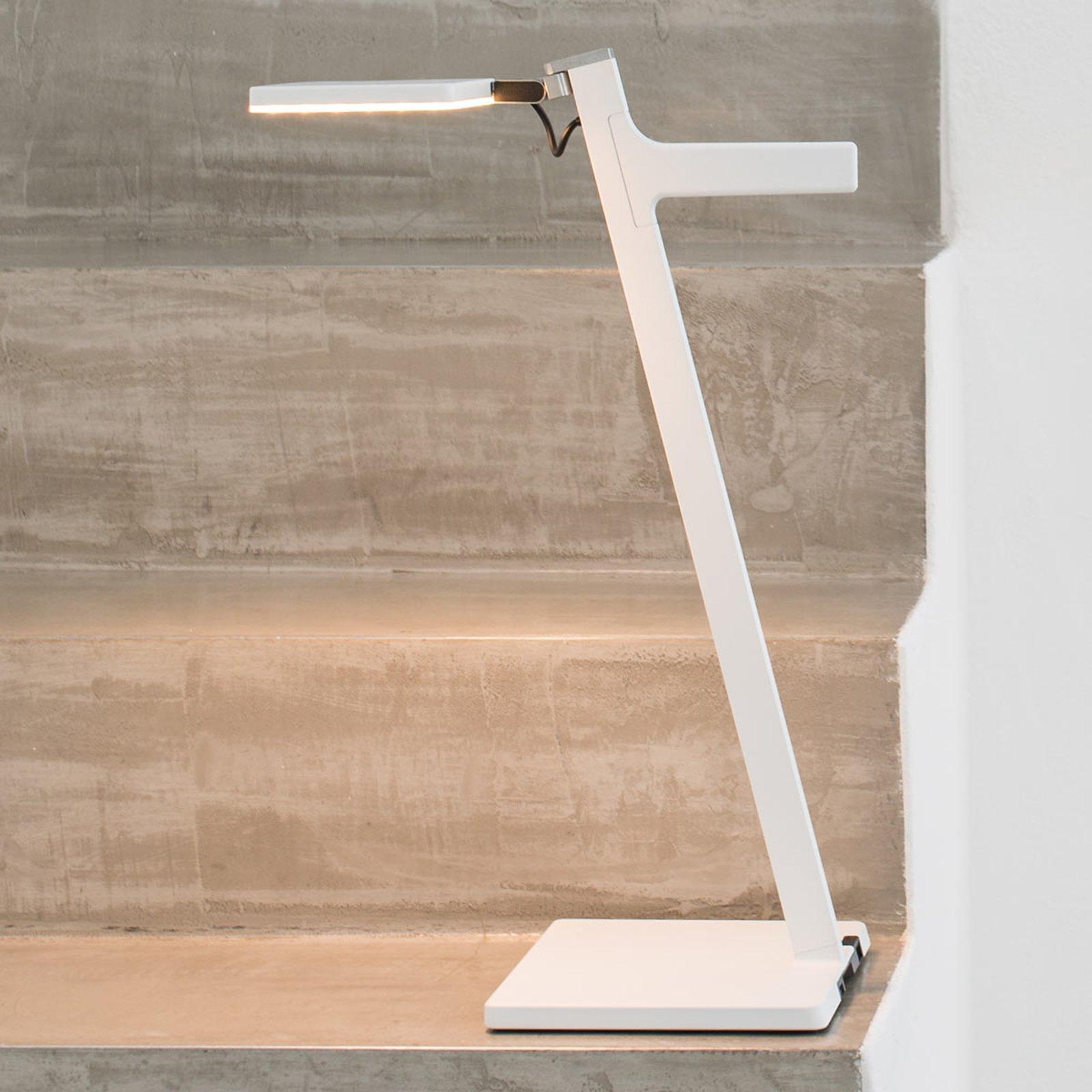 Nimbus Roxxane Leggera LED-bordlampe, hvit