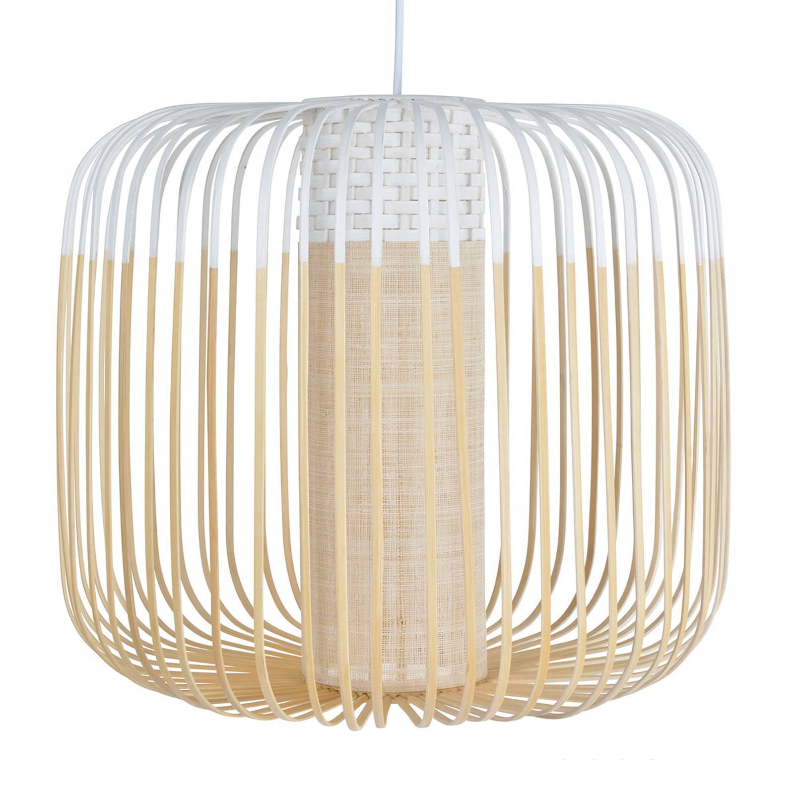 Forestier Bamboo Light M-riippuvalo 45cm valkoinen