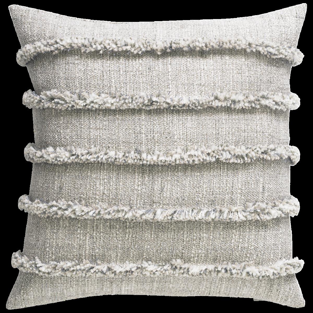 de Le Cuona   Rogue Cushion With Fringe Detail Frontier