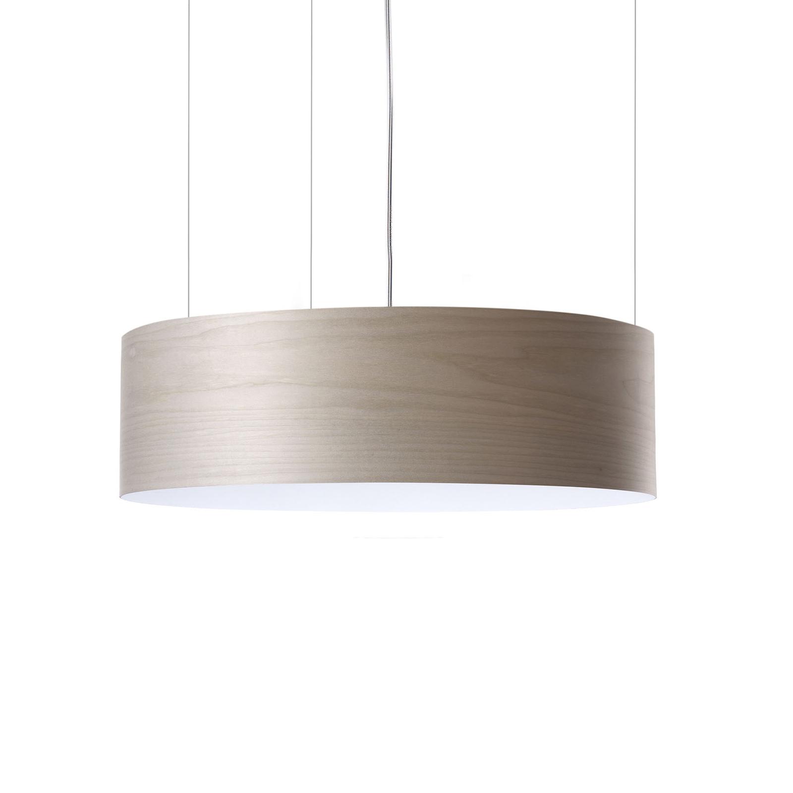 LZF Gea Slim -LED-riippuvalo, Casambi dim, harmaa