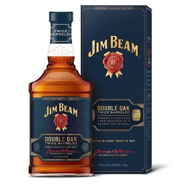 Jim Beam Double Oak Kentucky Straight Bourbon Whiskey 70cl