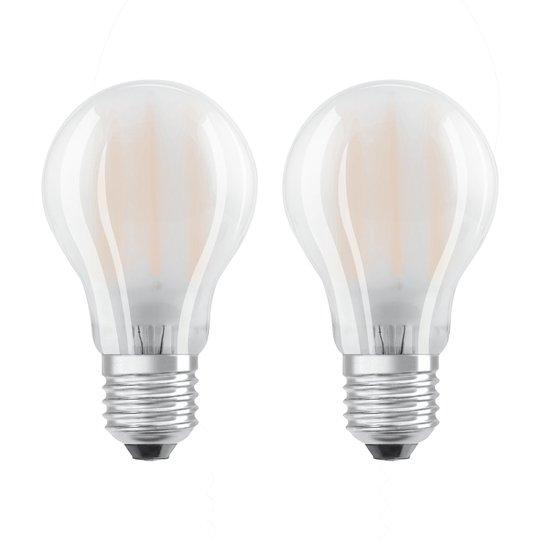 OSRAM-LED-lamppu E27 7W lämmin valkoinen 2 kpl