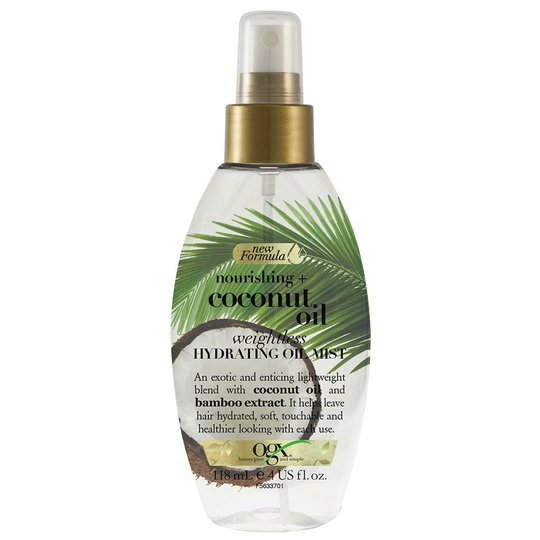 Coconut Milk Oil Mist, 118 ml OGX Hiusöljyt