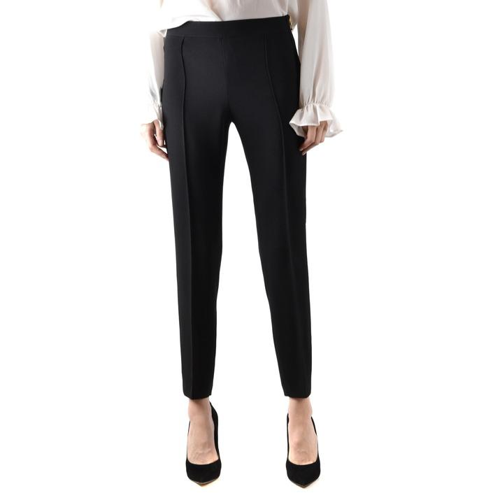 Boutique Moschino Women's Trouser Black 166728 - black 38