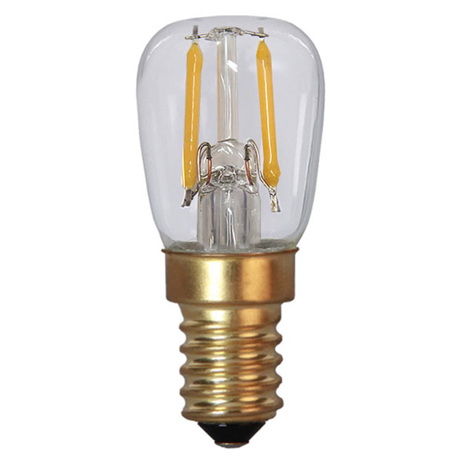 LED-lamppu E14 1,4W Soft Glow 2100K kirk himmennys