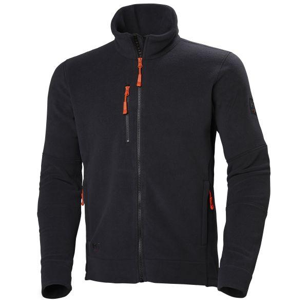 Helly Hansen Workwear Kensington Fleecejacka Svart Strl S