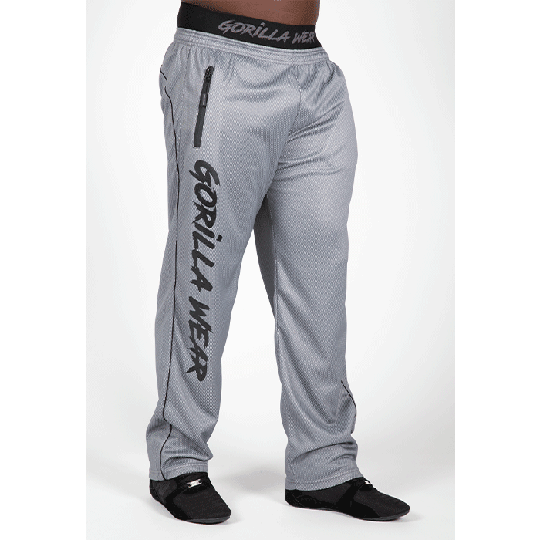 Mercury Mesh Pants, Grey/Black