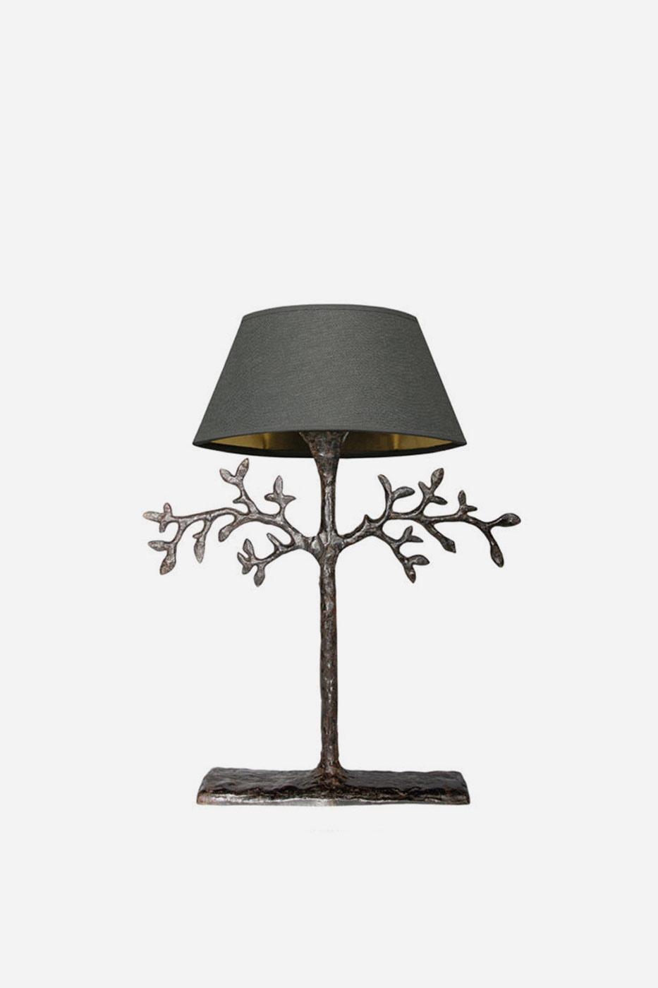 Bordslampa Mini Olivier 45 cm brons