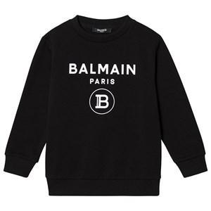 Balmain Logo Tröja Svart 4 years