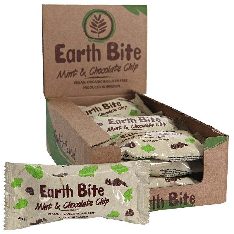 Eko Rawbar Choklad & Mint 12-pack - 28% rabatt