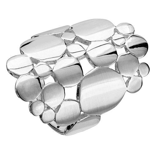 SILVER 925 RING, 19.0