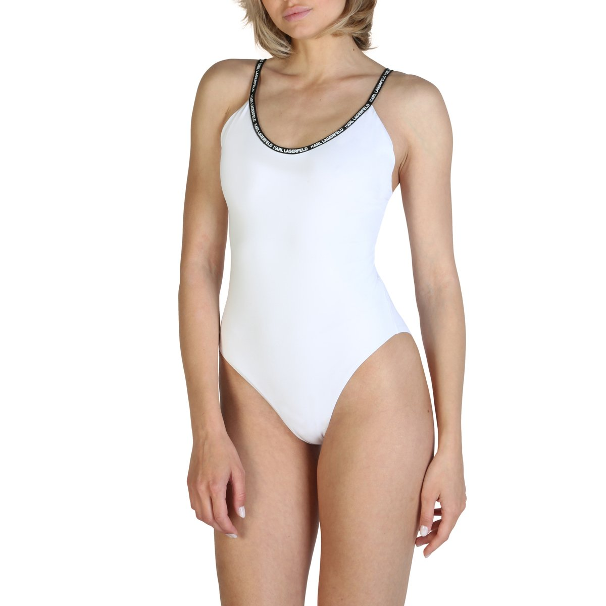 Karl Lagerfeld Women's Swimwear Various Colours KL21WOP01 - white XS