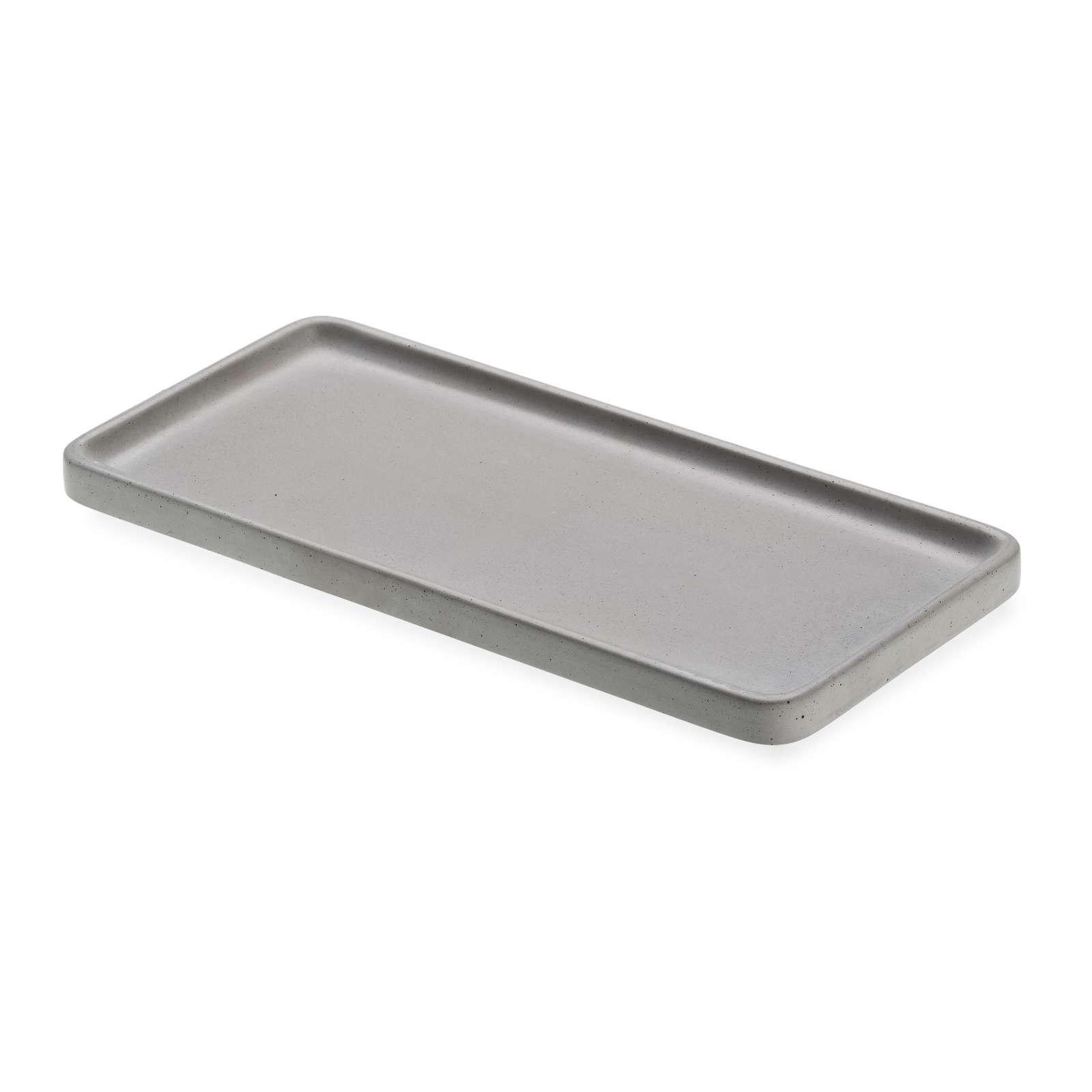 LIKEconcrete - Karin Tray Small 30 x 14 x 2 cm - Grey (93762)