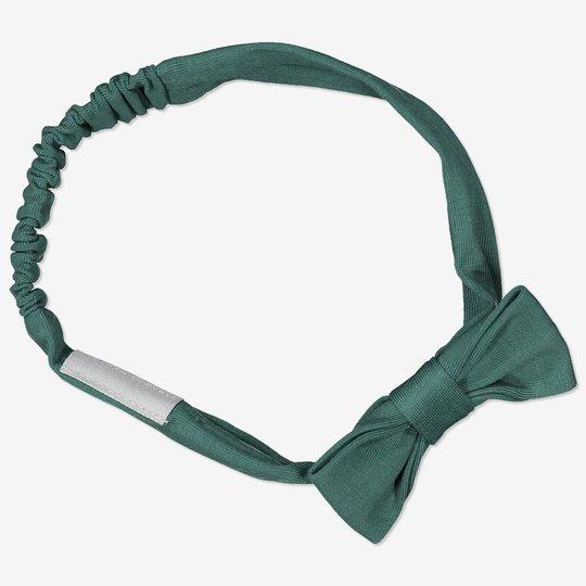 Elastiskt hårbånd med sløyfe grønn