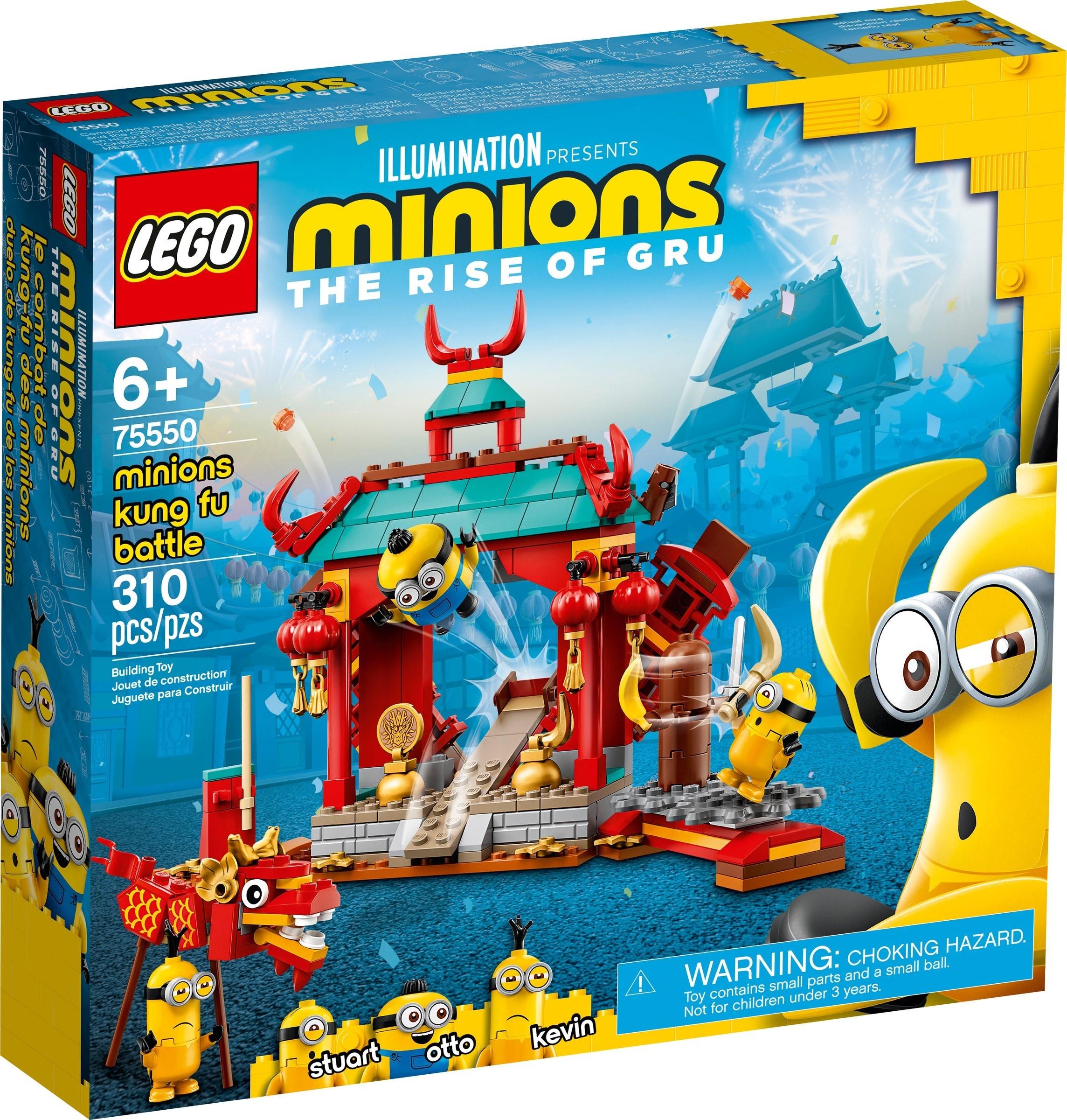 LEGO Minions - Minions Kung Fu Battle (75550)