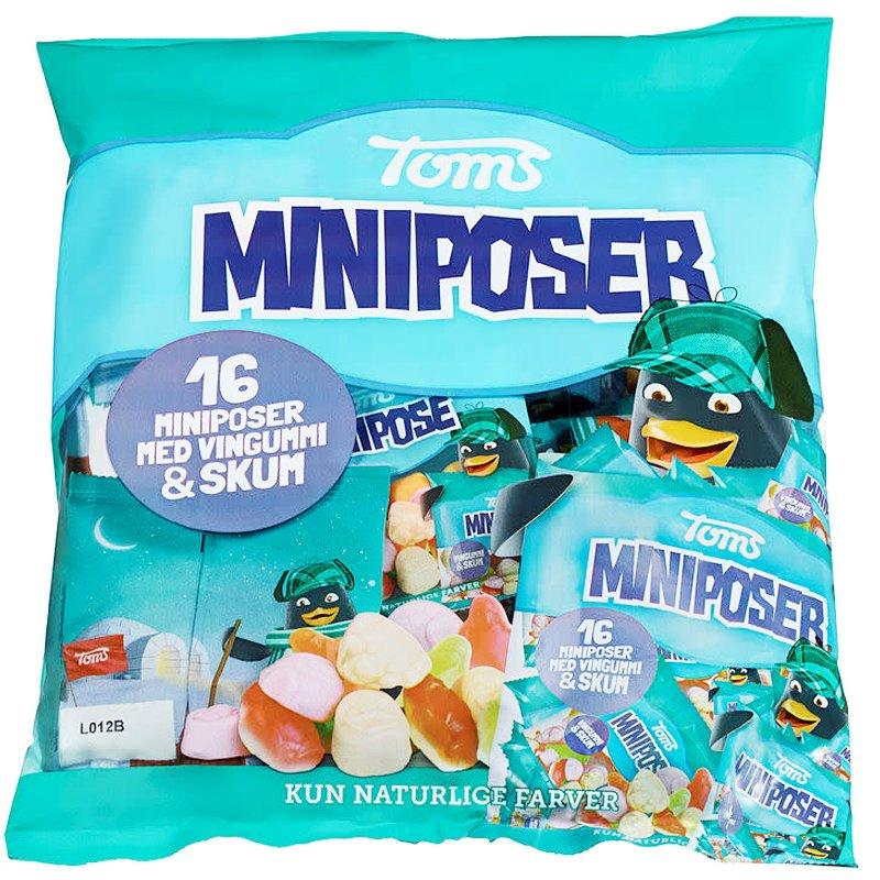 "Godis ""Miniposer"" 16 x 18g - 46% rabatt"