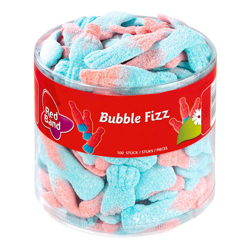 Red Band Bubble Fizz 1kg