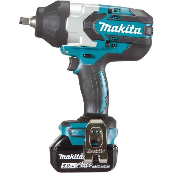 Makita DTW1002RTJ Muttertrekker med batterier og lader