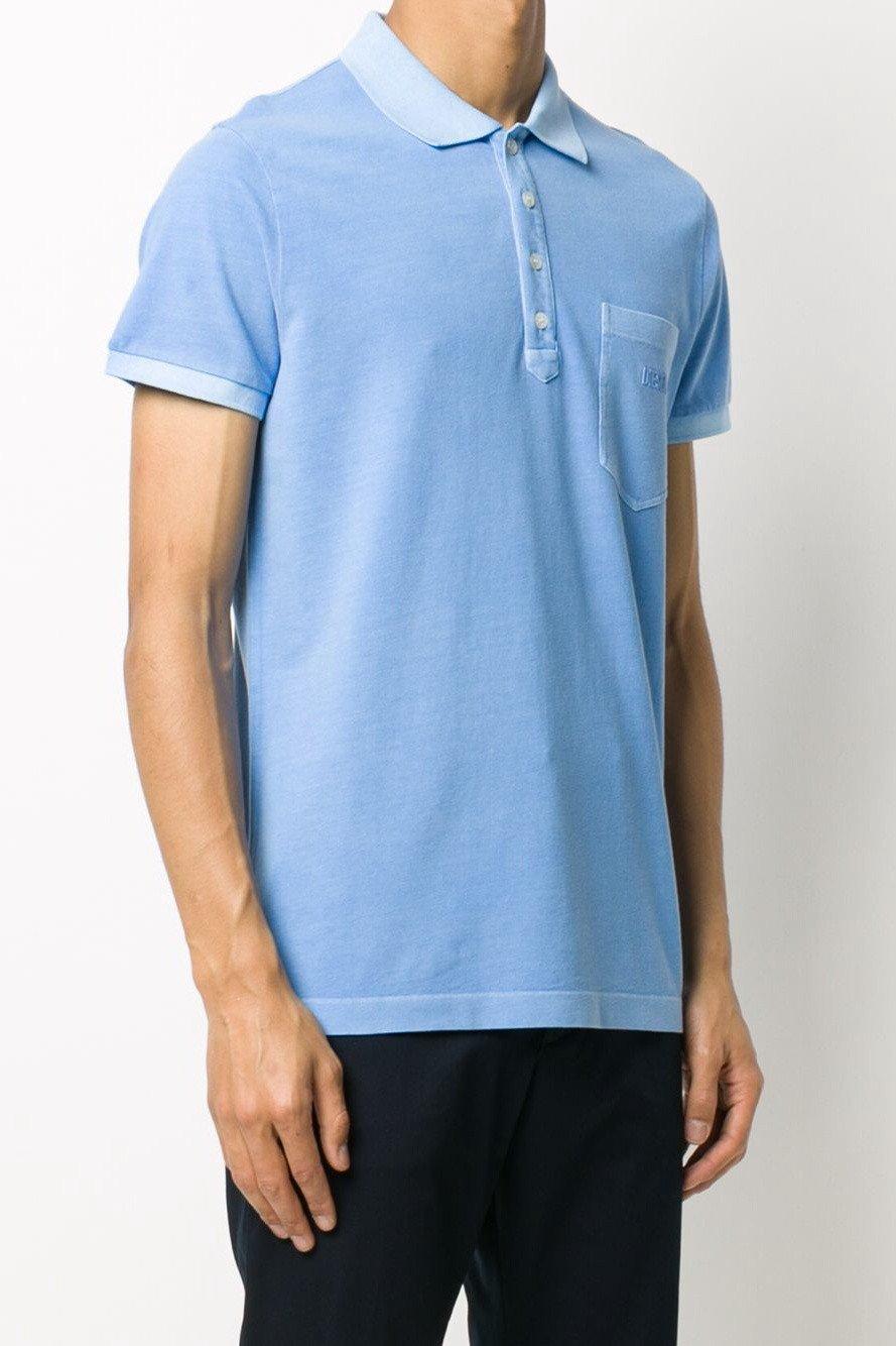 Diesel Men's Polo Shirt Various Colours 283807 - blue-2 L
