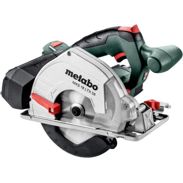 Metabo MKS 18 LTX 58 Pyörösaha ilman akkuja ja laturia