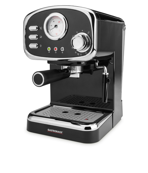 Gastroback 42615 Espresso Espressomaskin - Svart