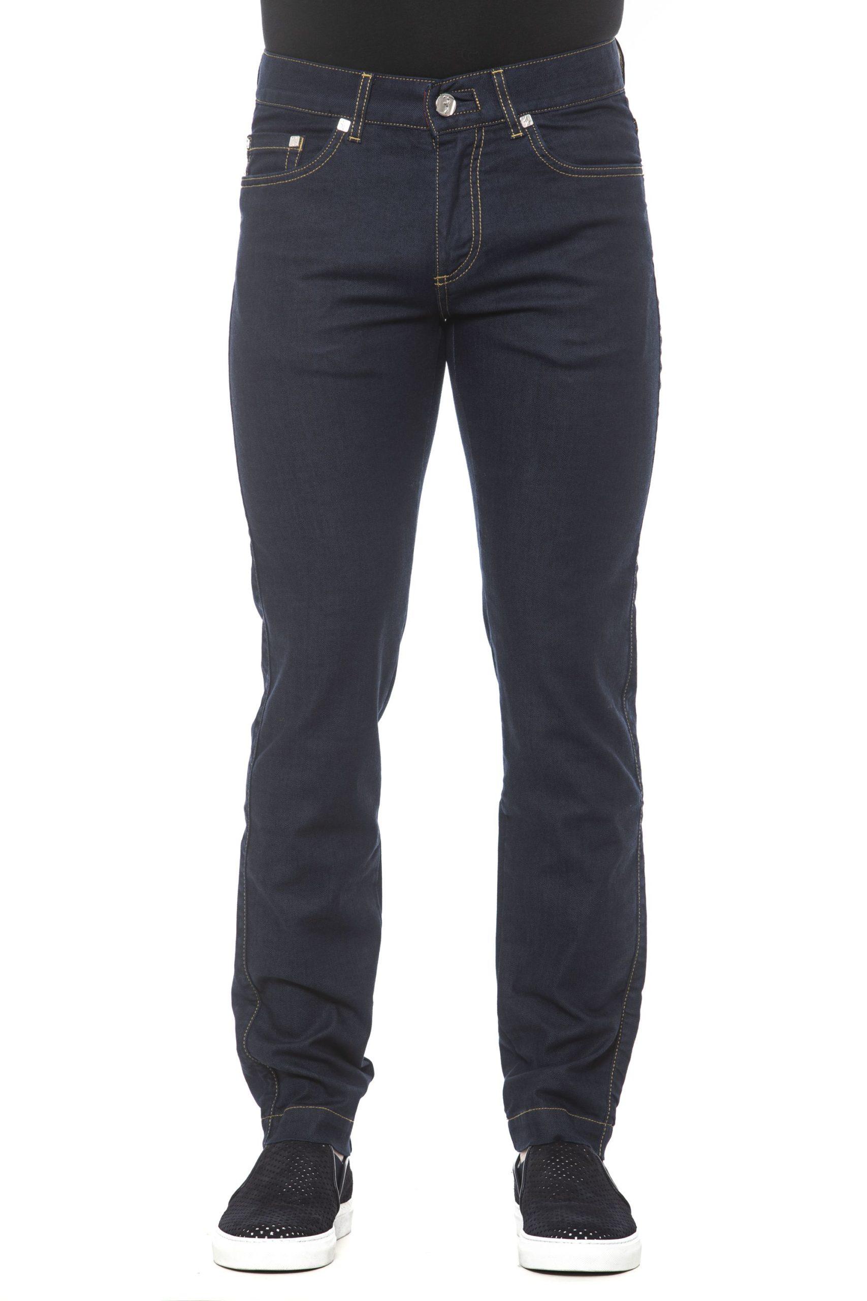 Billionaire Italian Couture Men's Jeans Blue BI1405212 - IT46   S