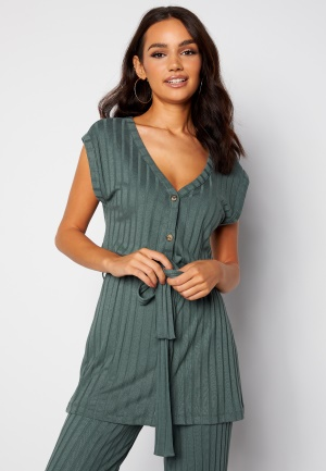 Happy Holly Mila vest top Green 52/54