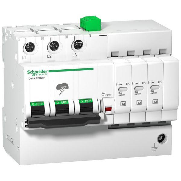 Schneider Electric A9L16299 Overspenningsvern integrert fraskiller 400 V, 1.2 kW