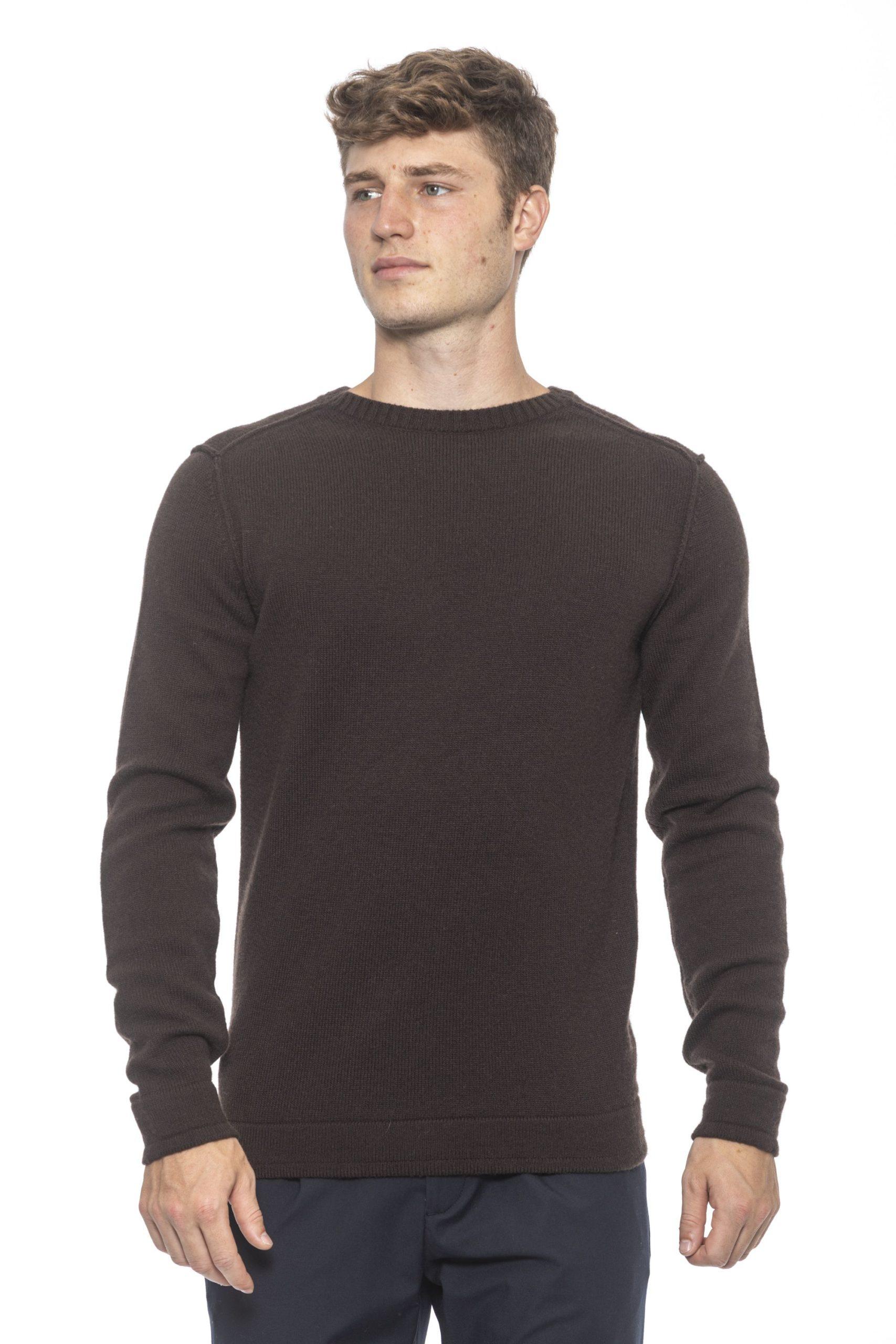 Alpha Studio Men's Moro Sweater Brown AL1314554 - IT50   L