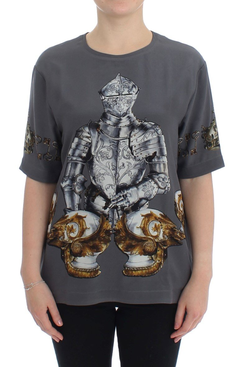 Dolce & Gabbana Women's Knight Crown Top SIG13344 - IT42 M