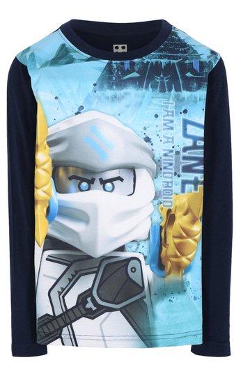 LEGO Collection Langermet T-Shirt, Dark Navy, 104