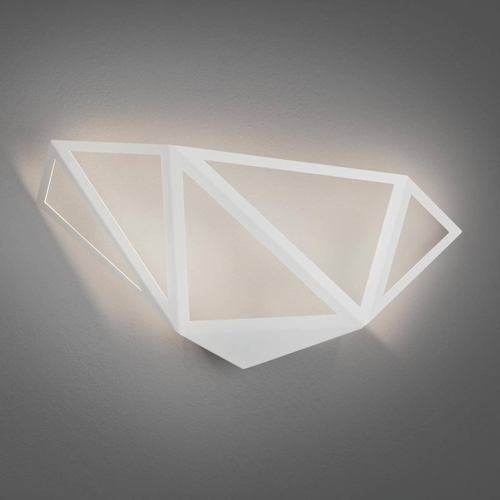 LED-vegglampe Starlight, hvit