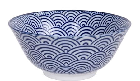 Nippon Blue Tayo Bowl Wave 15 cm