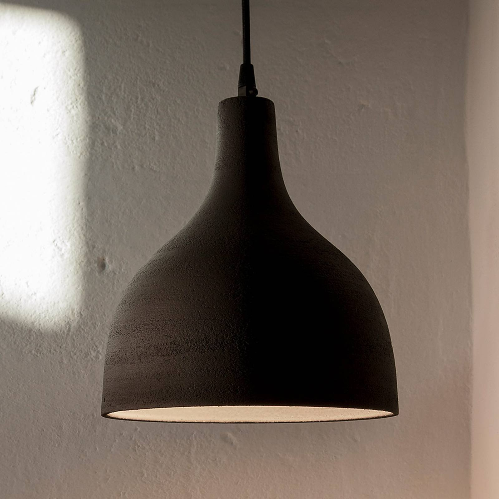 Karman T-Black - designer-pendellampe, 24 cm