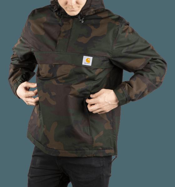 Carhartt M Nimbus Pullover Jackor CAMO EVERGREEN