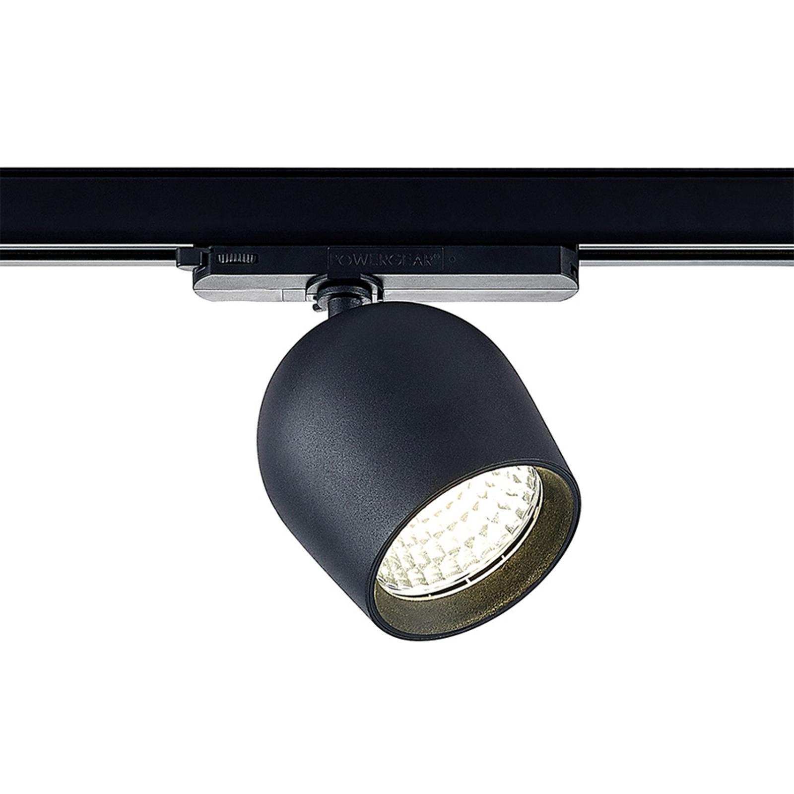 Arcchio Bauke LED-kiskospotti musta 30,5W 4 000 K